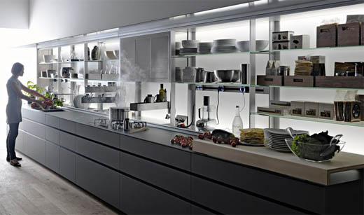 Cucina moderna cucine design by valcucine - Canale attrezzato valcucine ...
